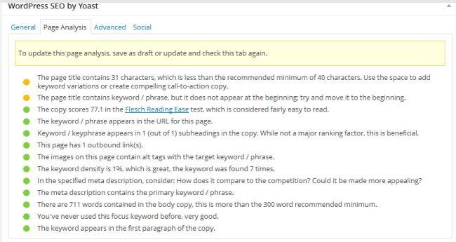 Wordpress-SEO-plugin-page-analysis