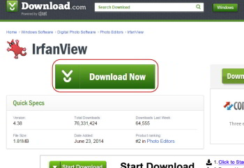 download Irfanveiw button